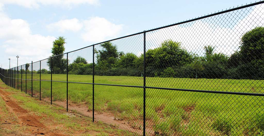 Chain link fence one