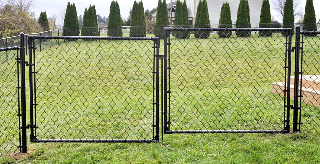 Chain link fence seven