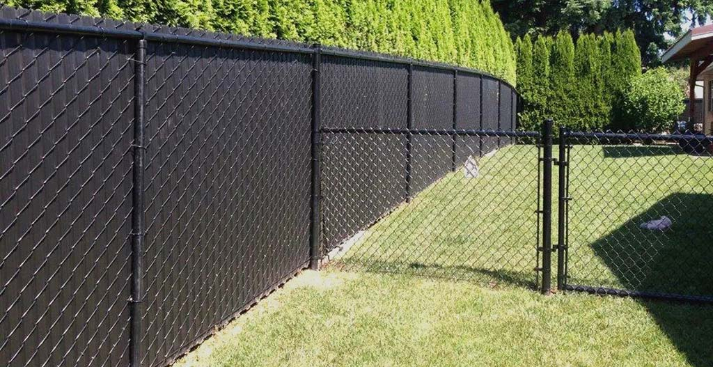 Chain link fence six