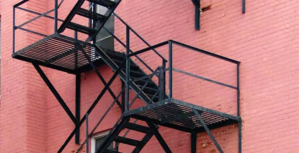 Fire escape seven