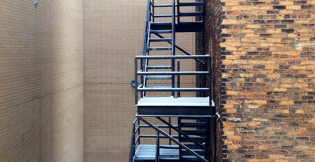 Fire escape six